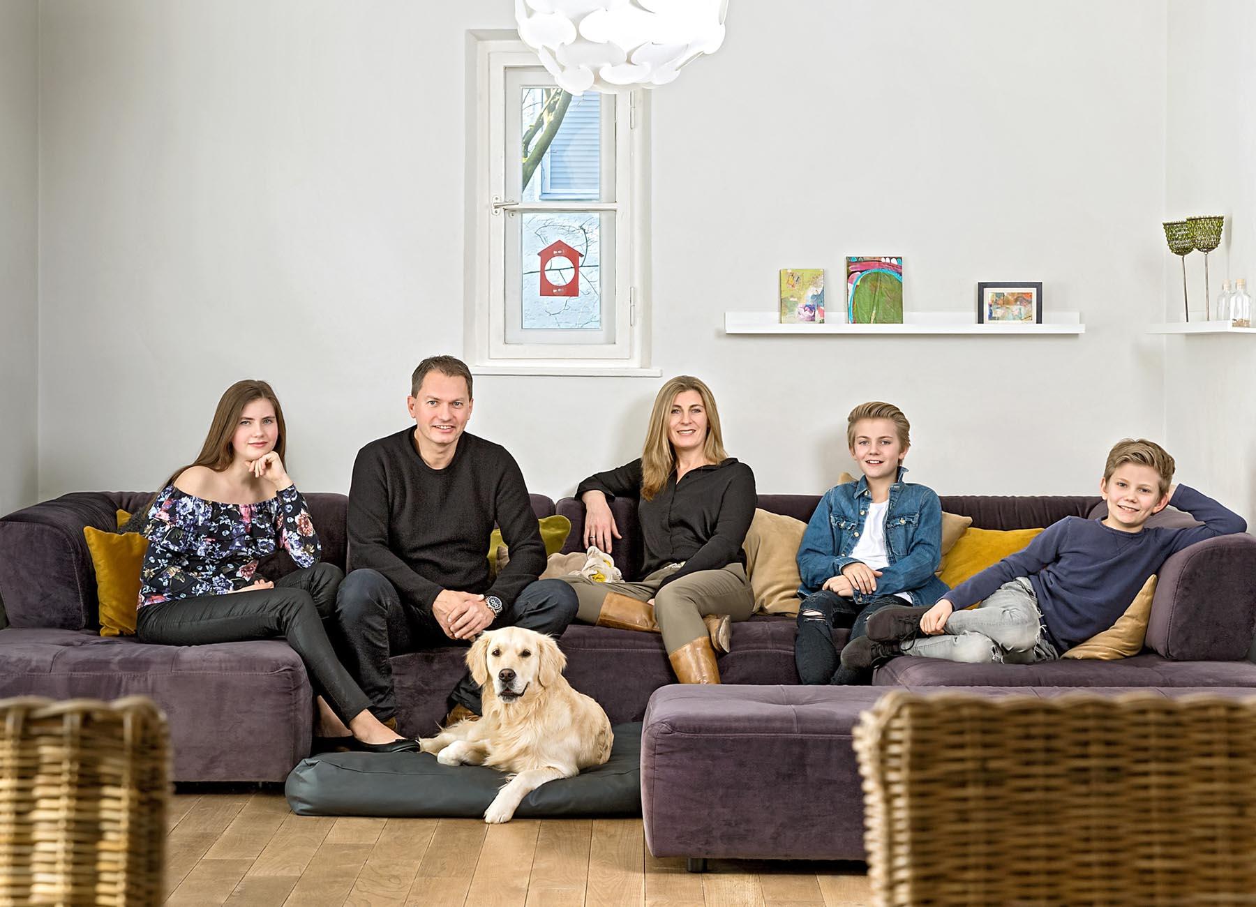 Portrait Familie Ertl